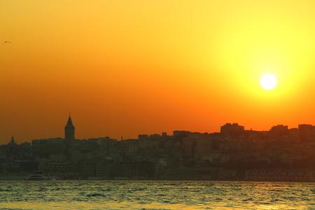 golden: bosphorus at golden hour