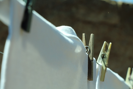 clasps: clothing clasps Stock Photo