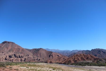 ferrous: Argentina Cordillera de los Andes Stock Photo
