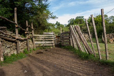 corral: Old Corral