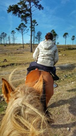 clothing: Horse riding Stock Photo