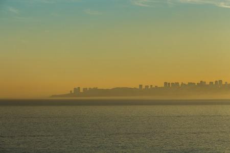 coastline: valparaiso coastline