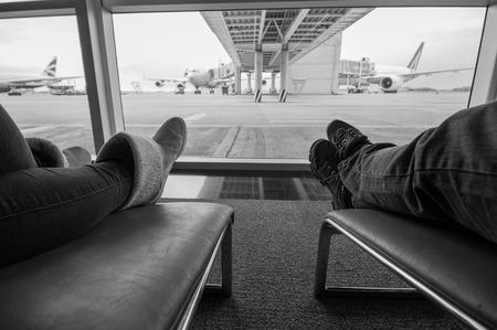 pista: waiting for a flight