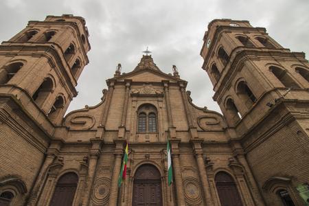 Cathedral of Santa Cruz de las Sierras, Bolivia Banque d'images