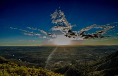 valley of calamuchita Stockfoto