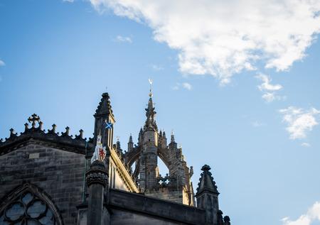 church in edinburgh Stockfoto