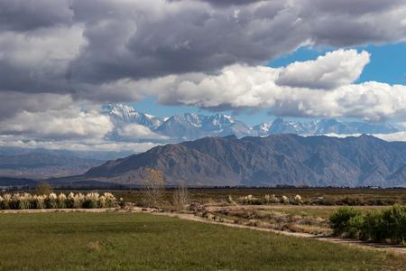 Andes mountains Stockfoto
