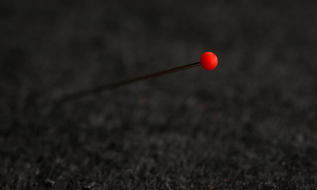 red head pin