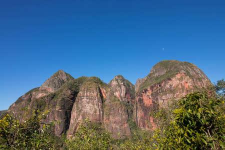 Amboro National park mountains in bolivia Standard-Bild