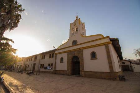 beautiful colonial church in samaipata, bolivia Standard-Bild