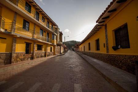 Samaipata city, next to amboró jungle Standard-Bild