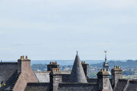 roofs and domes of edinburgh city