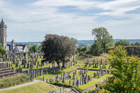 old cementery park in scotland