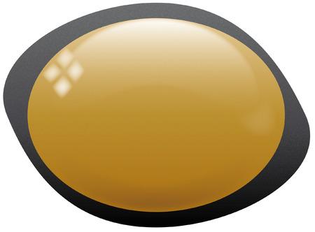 icon yellow eye style Stock Vector - 8199706