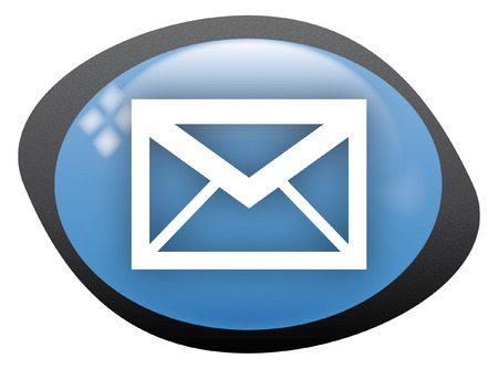 icon oval email Stock Vector - 8304794