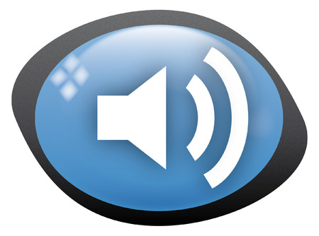 icon oval volume high Stock Vector - 8304831