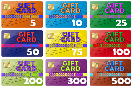 giftcard: set gift card color icons