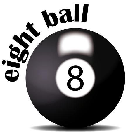 eight ball: eight ball