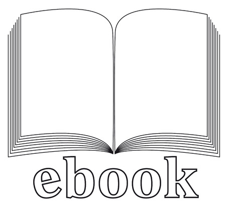 ebook icon Stock Vector - 9017533
