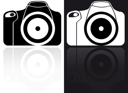reflexes: illustration of reflex black and white icon