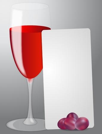 illustration of list red wine Vector