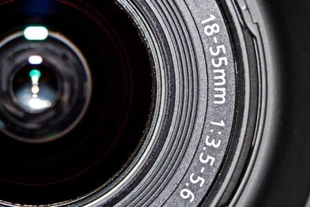 reflex: fotografia di lente in vetro per macchina fotografica reflex Archivio Fotografico
