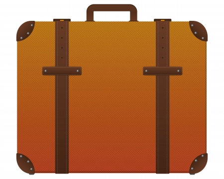 illustration of color suicase for travels Vector