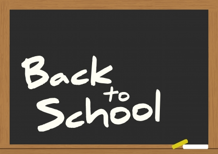 illustration of billboard with back to school text Stock Vector - 15219521