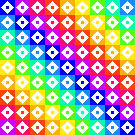 illustration of colorful geometric seamless pattern Stock Vector - 18264412