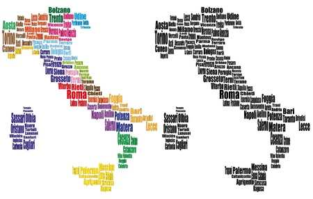 florence italy: illustrazione set di piantine della citt� Italia