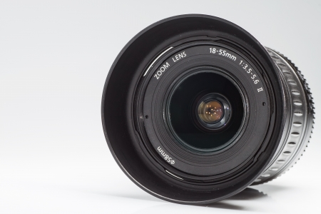 photography of profesional photo zoom lens  Stock Photo - 19661642