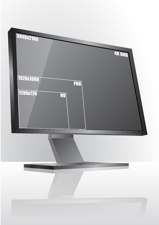 size: illustration of monitor with resolution size