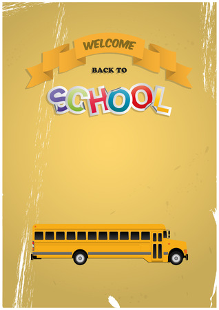schoolbus: welcome back to school with schoolbus