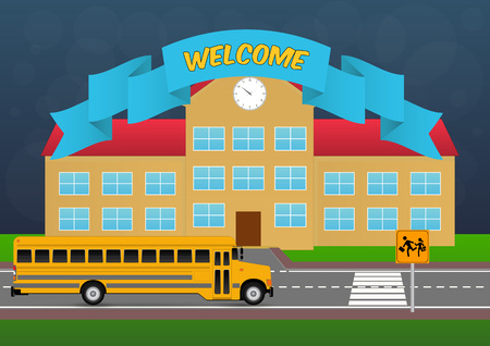 welcome back to school with schoolhouse