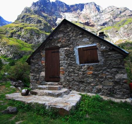 old mountain refuge photo