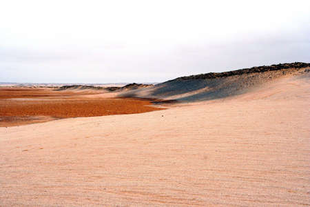 Portrait of the Namib Desert in Africa