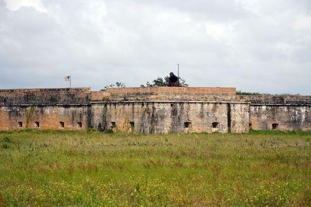 Fort Pickens, Gulf Islands National Seashore Stock Photo - 7328592