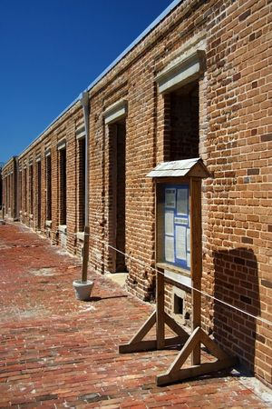 Old Army Barracks in Fort Taylor, Key West Stock Photo - 7077692