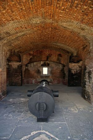 Fort Taylor Artillery, Key West Stock Photo - 7328612