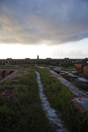 Fort Jefferson Hiking Stock Photo - 7328609