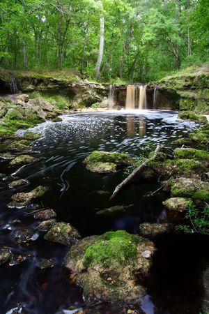 Ca�da Falls Creek en el norte de Florida