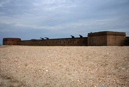 clinch: Fort Clinch, Florida Stock Photo