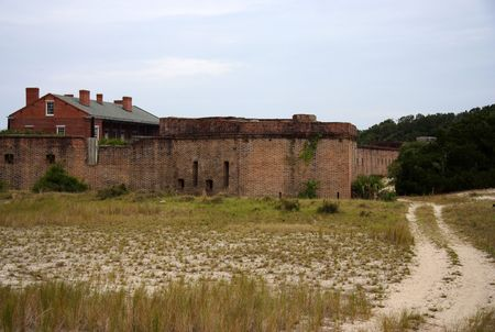 Fort Clinch State Park, Florida Stock Photo
