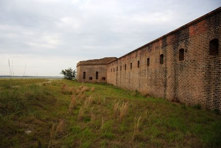 clinch: Historic Fort Clinch on Amelia Island, Florida