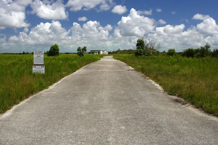 Former site of a nuclear missile base in Everglades National Park Stock Photo - 7451644
