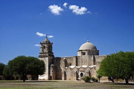 jesuit: View of Mission San Jose, San Antonio, Texas