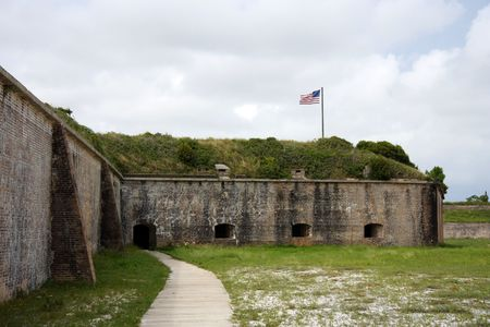 Fort Pickens near the city of Pensacola, Florida photo