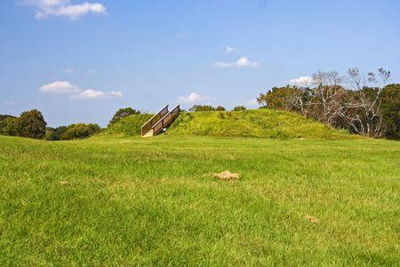 atlanta tourism: Lesser Temple Mound, Ocmulgee National Monument, Georgia