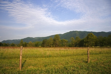 Cades Cove, Great Smokey Mountains National Park Stock Photo