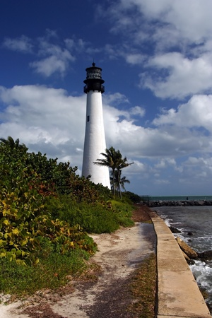 Cape Florida Light, Bill Baggs State Park, Miami photo